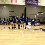 Varsity Volleyball Beats Oxford Academy
