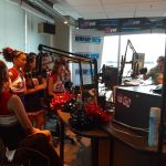 Coronado Cheerleaders Invade KISS FM