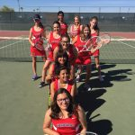 Coronado High School Girls Varsity Tennis falls to Antelope Union High School 1-8