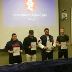 Coronado Football Has 4 Signees