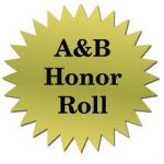 CONGRATS A/B HONOR ROLL FOOTBALL PLAYERS!!