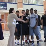 Cy Ridge Football Team Makes Donation to ACS