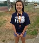 E. Chau wins Bronze in girls singles