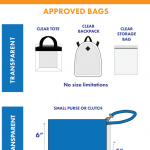 2018 Stadium Bag Policy