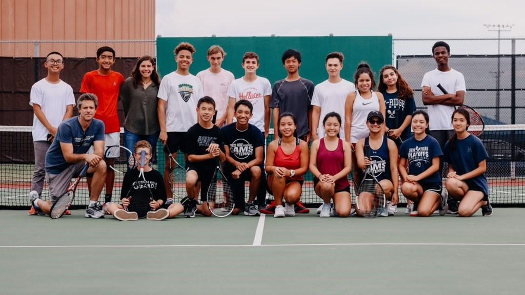 JV & Varsity Tennis Defeat Northbrook!