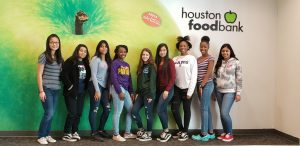 Community Service – Houston Food Bank