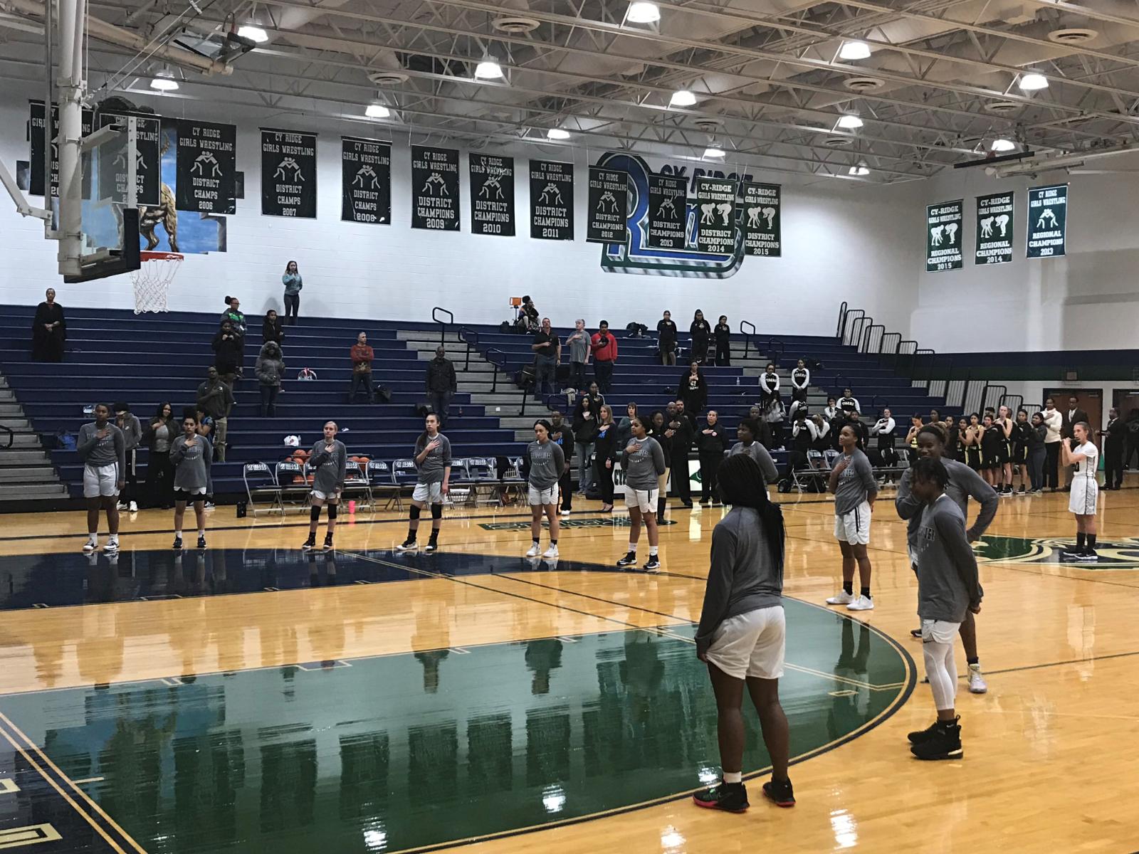Girls Varsity Basketball Defeat Jersey Village