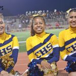 Carter High School Cheer Captains!