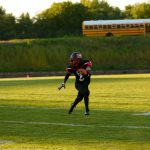 Campbell Memorial High School Varsity Football falls to Labrae High School 28-19