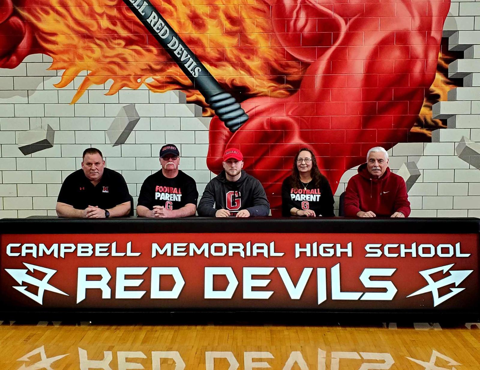 Campbell Memorial High School Senior James Shaffer to Attend Grove City College