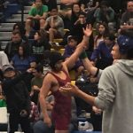 Wrestling Showing their Grit at the Bishop Amat Wrestling Tournament