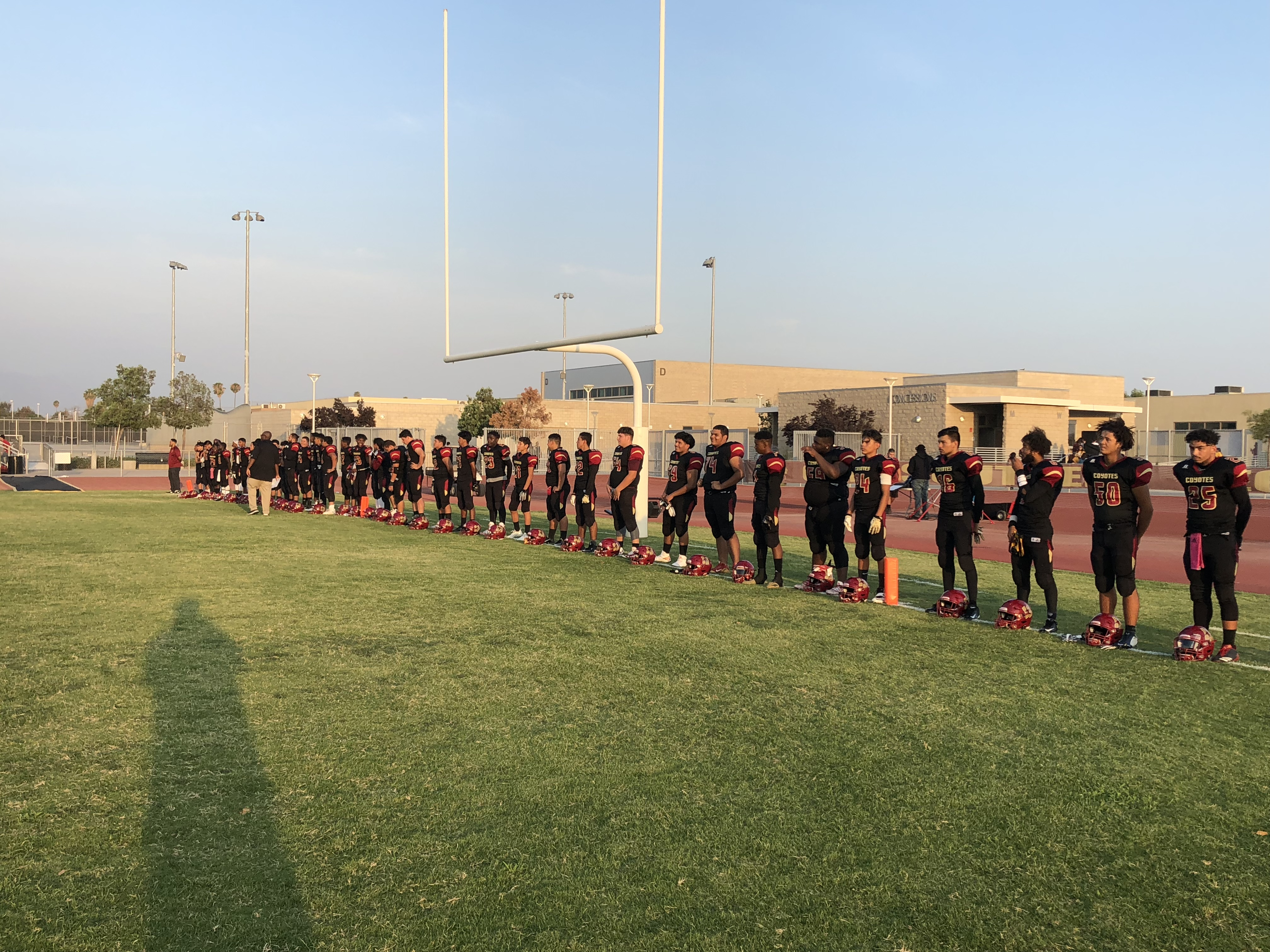 Coyote Ground Game Too Much for Garey