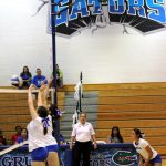 Volleyball Lady Gators Win!