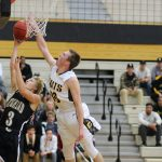 Cottonwood High School Boys Varsity Basketball falls to Highland High School 53-50