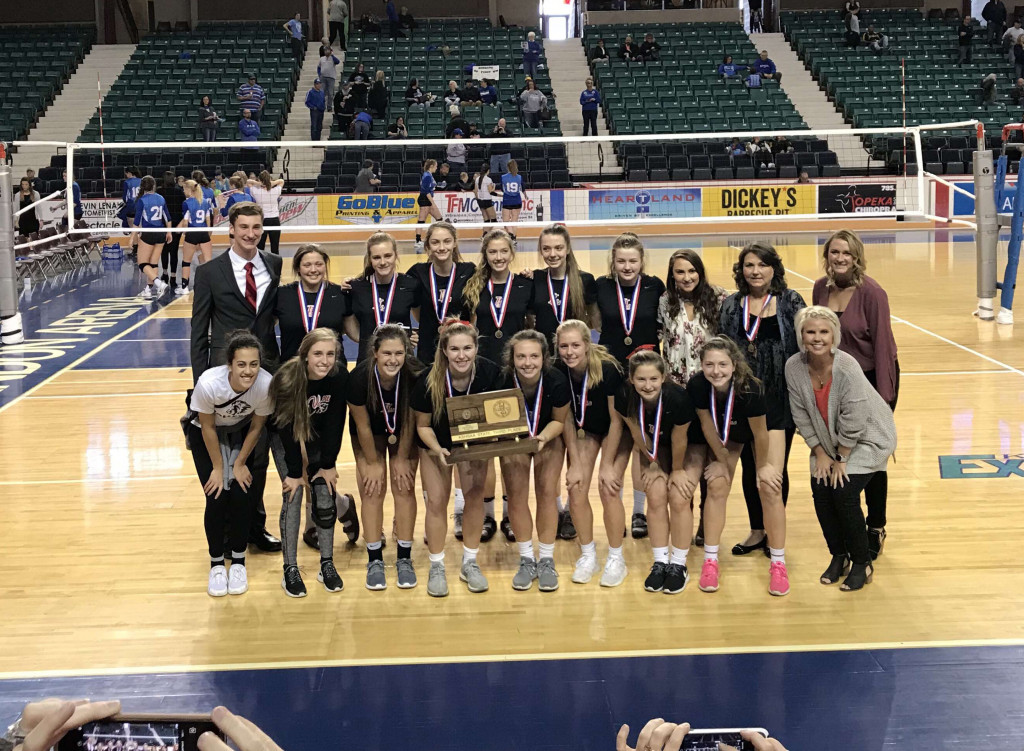 Volleyball Gets Third At State!!