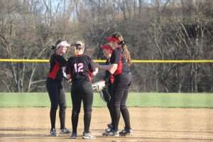 Softball vs. Bishop Ward