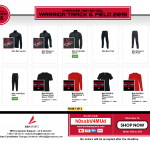 WARRIOR TRACK & FIELD 2019 SPIRIT SHOP- Remains Open For Orders!