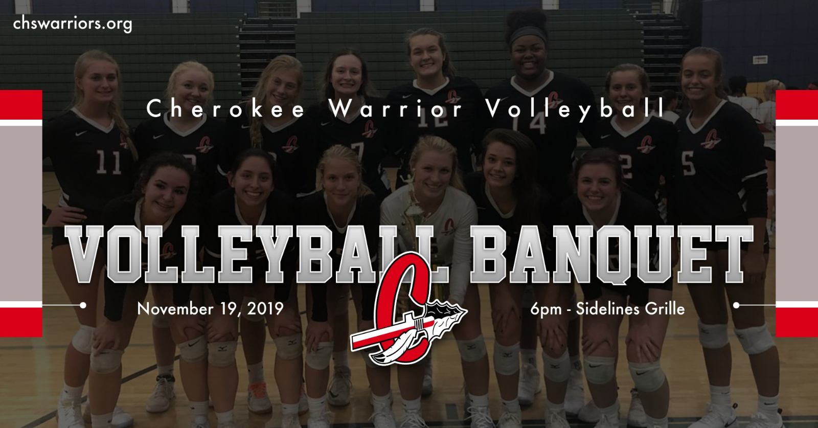 CHS Warrior Volleyball Banquet – RSVP