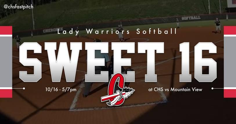 Softball – Sweet 16