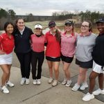 Girls Varsity Golf tops Walton & Marietta in a tri-match