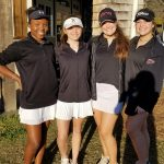 Girls Varsity Golf starts the season off with their 1st major event