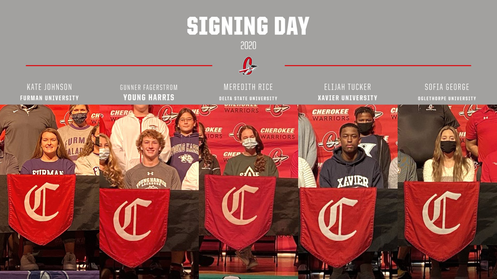 Warriors Signing Day
