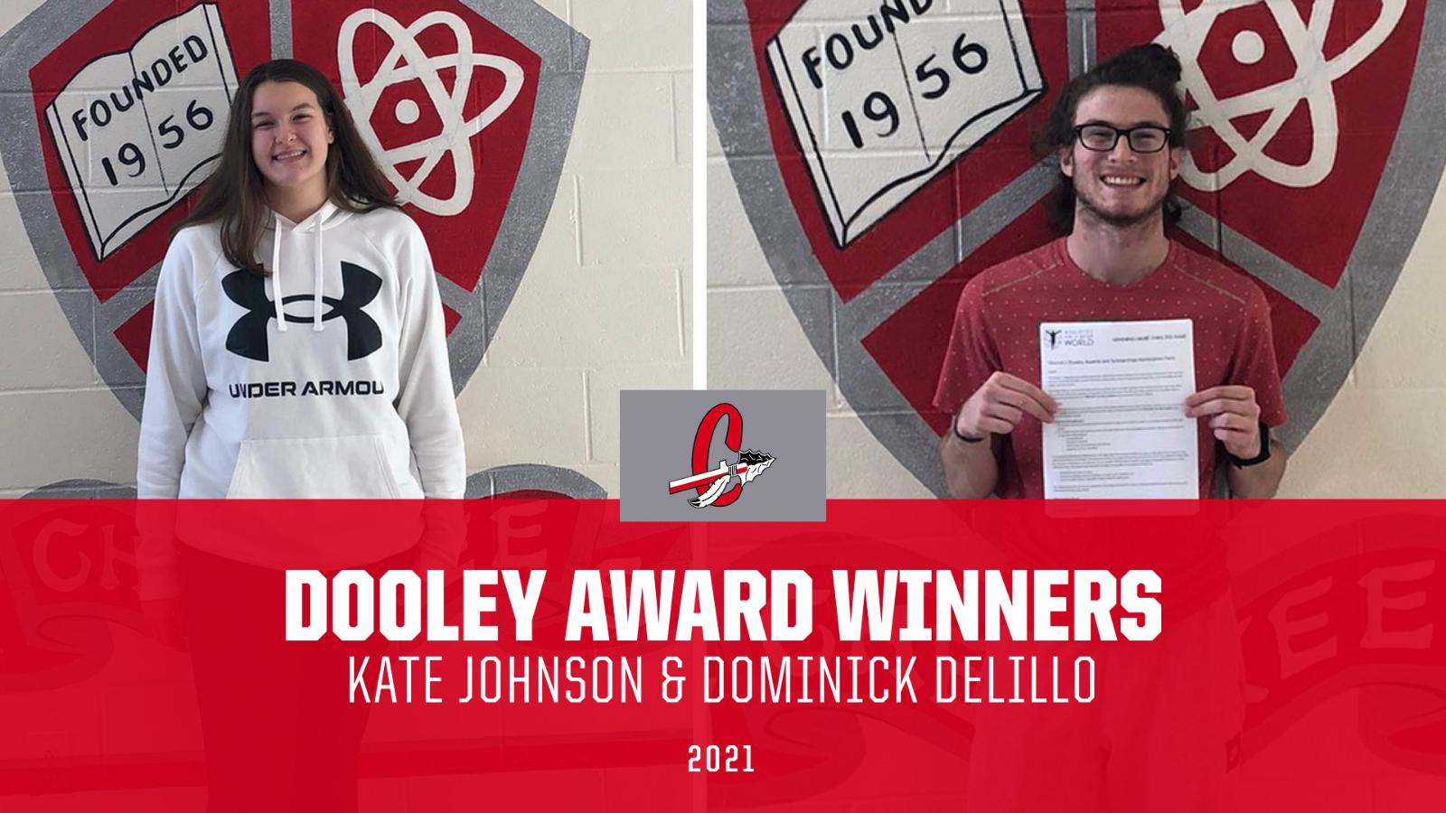 Congrats Kate Johnson & Dominick DeLillo