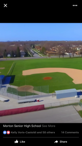 Flyover from a Drone of Morton's Baseball Field: Courtesy of Matt Marcum
