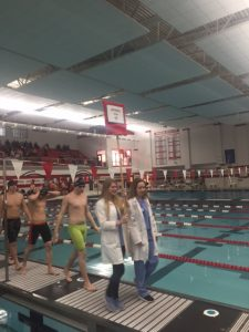 Boys Swim Sectional at Munster