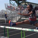 Hammond Morton High School Girls Varsity Track finishes 2nd place