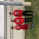 Erick Cuellar, Mark Hernandez, and Aaliyah Clopton advance to the cross country regional at Lemon lake.