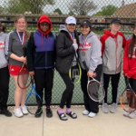 Girls Varsity Tennis finishes 2nd place at GLAC Tournament