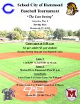 Mayor McDermott to Throw out First Pitch at SCH Baseball Tournament