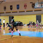 Parkdale High School Girls Varsity Volleyball falls to Laurel High School 3-2