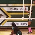 Parkdale High School Girls Varsity Volleyball beat Northwestern High School 3-2