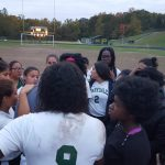 Parkdale High School Girls Varsity Soccer beat Bladensburg School 1-0