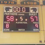 Parkdale High School Boys Varsity Basketball beat Fairmont Heights Sr High School 58-57