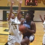 Parkdale High School Girls Varsity Basketball beat Northwestern High School 76-13