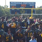 Parkdale High School Junior Varsity Football beat Central High School 40-0