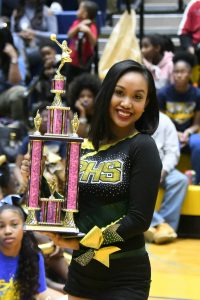 Parkdale Cheerleading Team @ PGCPS Cheer Competition 1/27/18