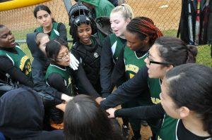 Girls Varsity Softball vs Wise HS 3/28/18