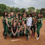 Girls Varsity Softball falls to High Point 10 – 2