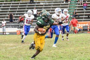 Varsity Football Parkdale vs Friendly 9/15/18