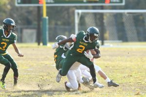 JV Football High Point vs Parkdale 10/31/18