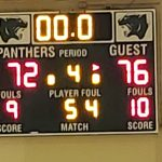 Boys Varsity Basketball falls to Northwestern 76 – 72