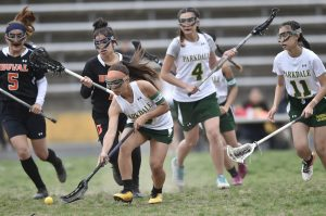 4/11/19 Parkdale Varsity Girls LAX vs Duval