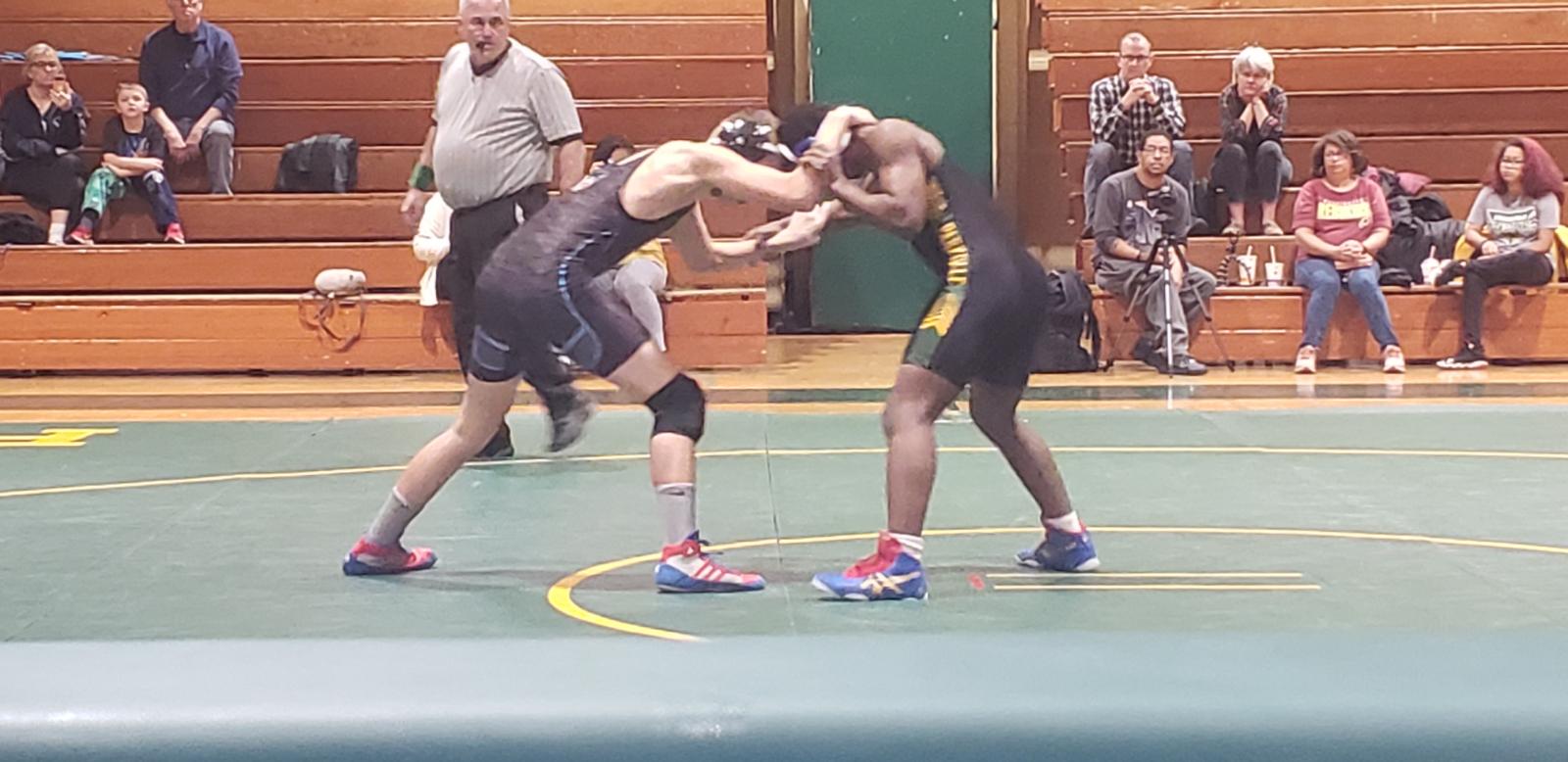 Parkdale Wrestling vs Eleanor Roosevelt 2/1/20