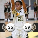 Girls Varsity Basketball falls to Defending State Champs Charles Herbert Flowers 59 – 35