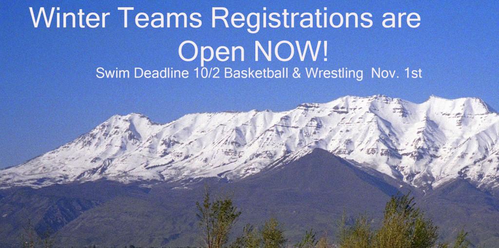 Winter TEAM Registrations NOW OPEN!