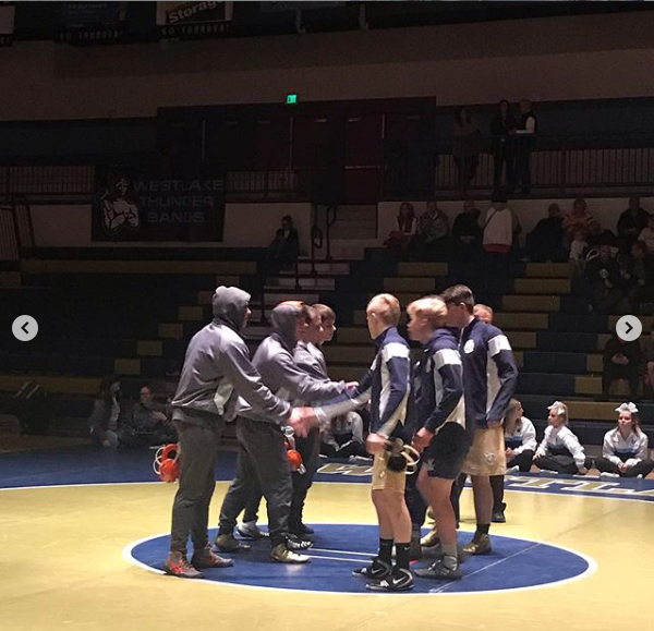 Thunder Wrestling Charred the Chargers 45-25